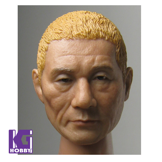 Asian Film Stars Figurine Heads